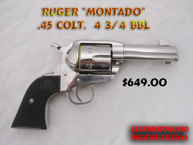 Ruger Montado  Guns > Pistols > Ruger Single Action Revolvers > Cowboy Action