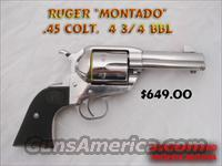 Ruger Montado  Ruger Single Action Revolvers > Cowboy Action