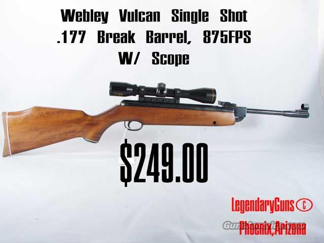 webley vulcan deluxe for sale
