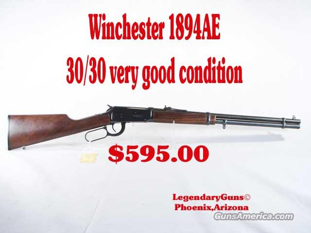 Winchester 1894AE 30/30 used  Guns > Rifles > Winchester Rifles - Modern Lever > Model 94 > Post-64