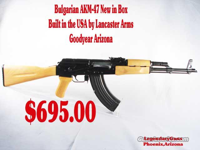 Lancaster Arm Akm-47 NEW IN BOX  Guns > Rifles > AK-47 Rifles (and copies) > Full Stock
