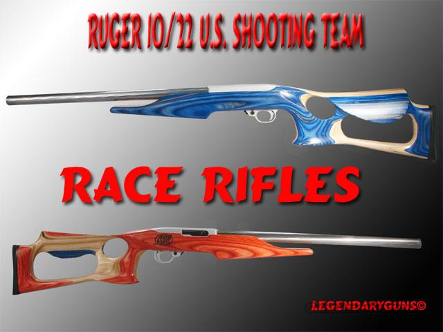 Ruger Race Rifle US SHOOTING TEAM  Guns > Rifles > Ruger Rifles > 10-22