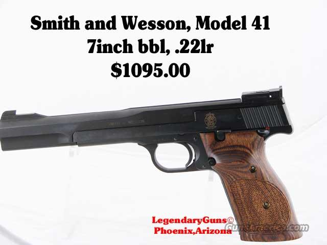S&W M-41 7 inch New in box .22LR  Guns > Pistols > Smith & Wesson Pistols - Autos > Steel Frame