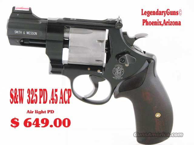 S&W M 325PD .45 ACP  Used It has been Fired  Guns > Pistols > Smith & Wesson Revolvers > Full Frame Revolver