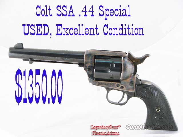 Colt SAA .44 Special Used 5.5 inch BBL  Guns > Pistols > Colt Single Action Revolvers - 3rd Gen.