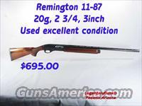 Remington 11-87 20G  Guns > Shotguns > Remington Shotguns  > Autoloaders > Hunting