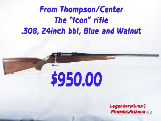 """ThompsonCenter """"ICON"""" Rifle .308  Guns > Rifles > Thompson Center Rifles > Icon"""