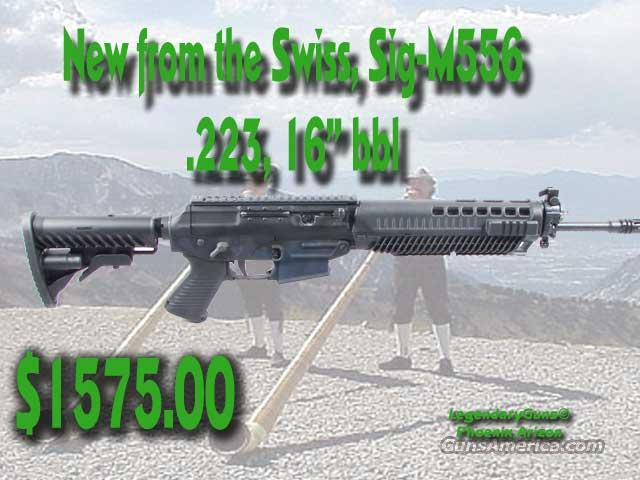 SIG-M-556. .223 Rifle,New to the USA  Guns > Rifles > Sigarms Rifles
