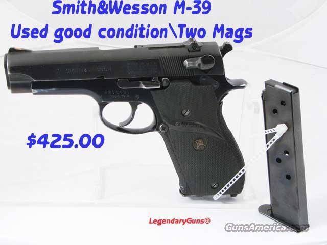 S&W M 39-2 Used Good condition  Guns > Pistols > Smith & Wesson Pistols - Autos > Alloy Frame