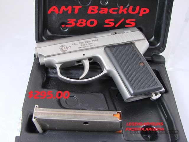 AMT Backup .380   Guns > Pistols > AMT Pistols > Double Action