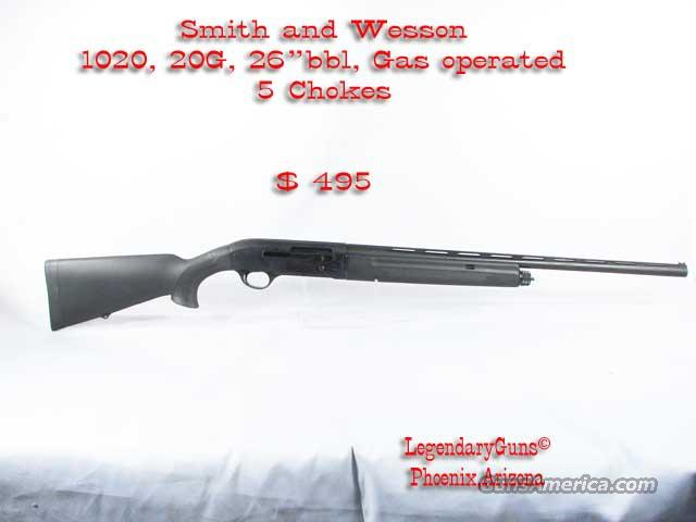 "S&W ""1020""  Model .20G  Guns > Shotguns > Smith & Wesson Shotguns"