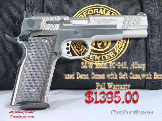 S&W Performance Center PC 945  Guns > Pistols > Smith & Wesson Pistols - Autos > Steel Frame