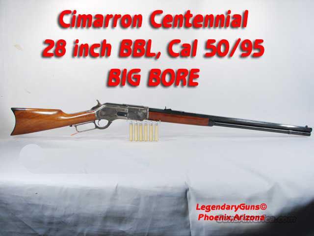 1876 Centennial 50-95 Big Bore  Guns > Rifles > Cimmaron Rifles > Lever