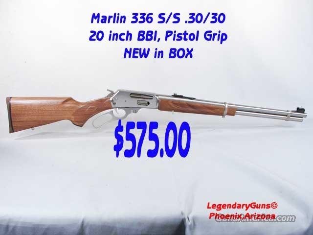 Marlin 30/30 336 S/S  New In Box  Guns > Rifles > Marlin Rifles > Modern > Lever Action