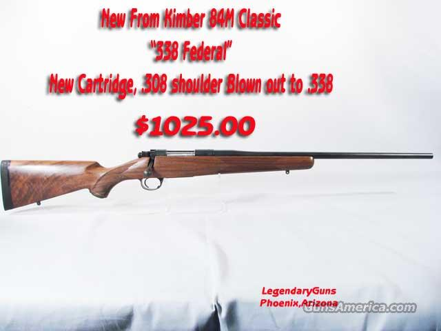 Kimber M-84 Classic .338 Federal  Guns > Rifles > Kimber of America Rifles