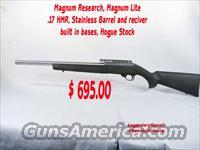 Magnum Research .17HMR  Guns > Rifles > MN Misc Rifles