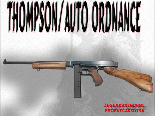 Thompson M-1 ,AutoOrdnance .45  Guns > Rifles > Thompson Subguns/Semi-Auto