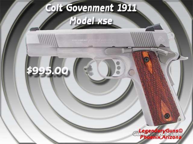 Colt Government model XSE .45  Guns > Pistols > Colt Automatic Pistols (1911 & Var)