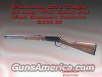Winchester Trapper .44 mag  Guns > Rifles > Winchester Rifles - Modern Lever > Model 94 > Post-64