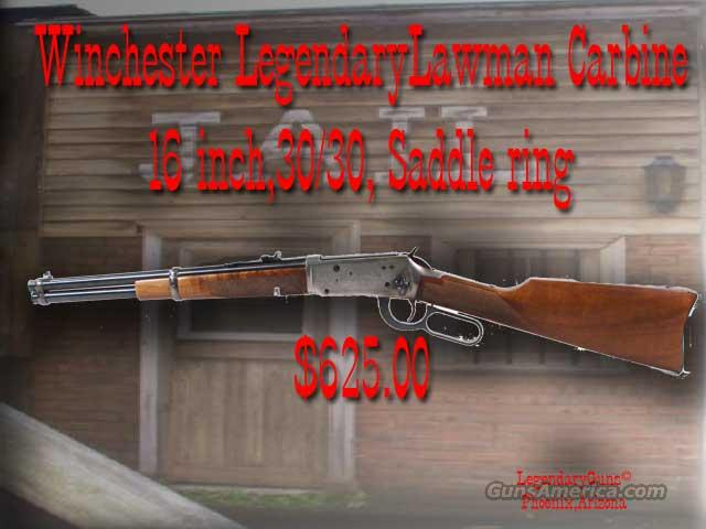 Winchester Legendary Lawman  Guns > Rifles > Winchester Rifle Commemoratives