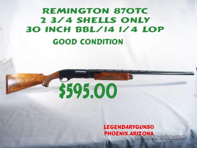 Remington 870TC 12   Trap  Guns > Shotguns > Remington Shotguns  > Pump > Trap/Skeet