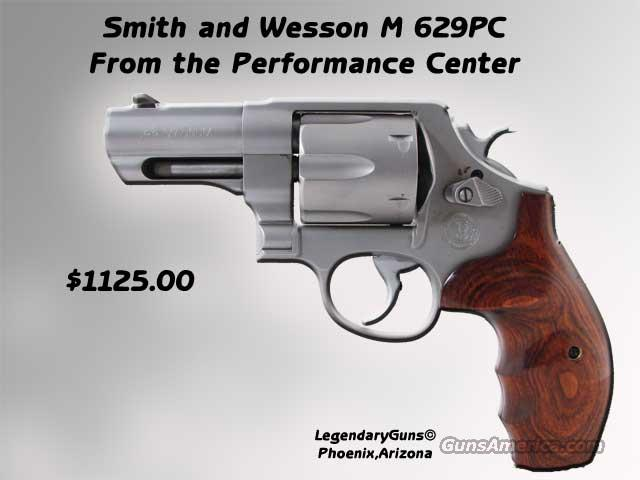 S&W M629 PC  3inch with Comp  Guns > Pistols > Smith & Wesson Revolvers > Performance Center