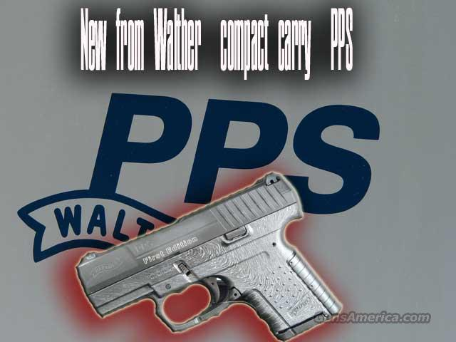 PPS 9mm Compact Carry  Guns > Pistols > Walther Pistols > Post WWII > PP Series