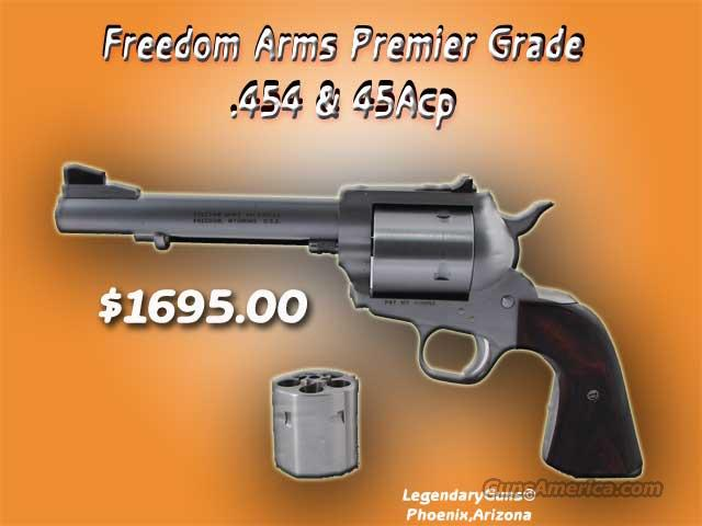 Freedom Arms .454 /& .45ACP  Guns > Pistols > Freedom Arms Pistols