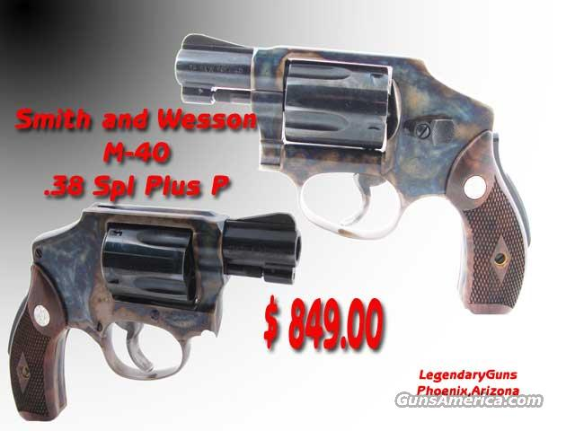 S&W M-40 .38 spl Grip Saftey  Guns > Pistols > Smith & Wesson Revolvers > Pocket Pistols