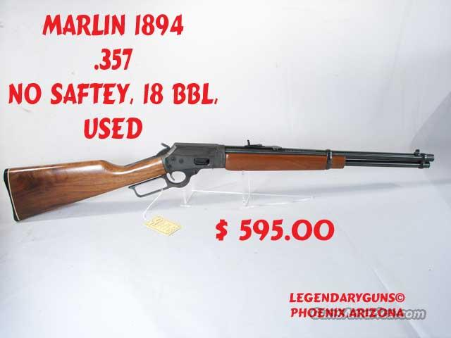 Marlin 1894 .357  18 inch  Guns > Rifles > Marlin Rifles > Modern > Lever Action
