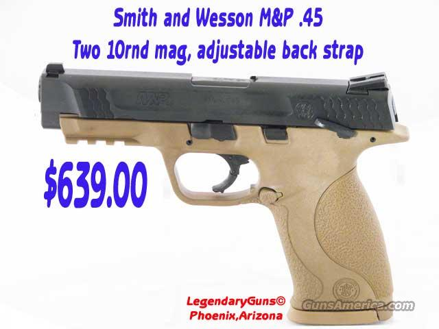 S&W M&P .45 ACP  Guns > Pistols > Smith & Wesson Pistols - Autos > Polymer Frame