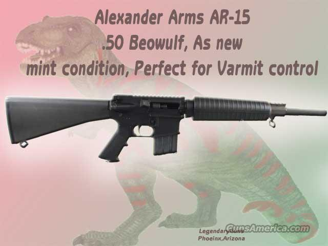 Alexander Arms .50 Beuwolf  Guns > Rifles > AR-15 Rifles - Small Manufacturers > Complete Rifle