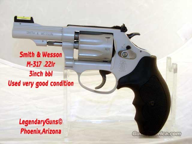 S&W M-317 .22lr  3inch BBl  Guns > Pistols > Smith & Wesson Revolvers > Pocket Pistols