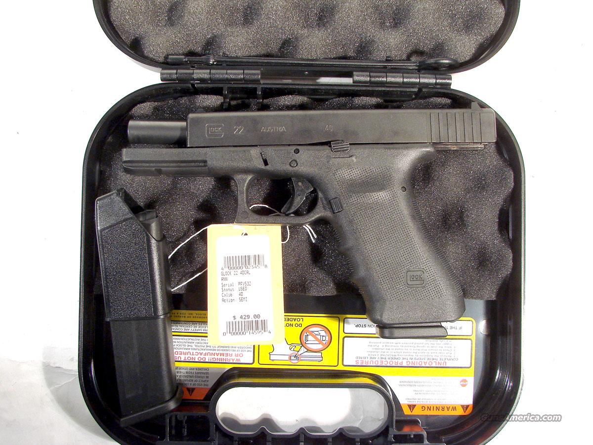 Glock 22 .40 S&W Use as new condition,  Guns > Pistols > Glock Pistols > 22