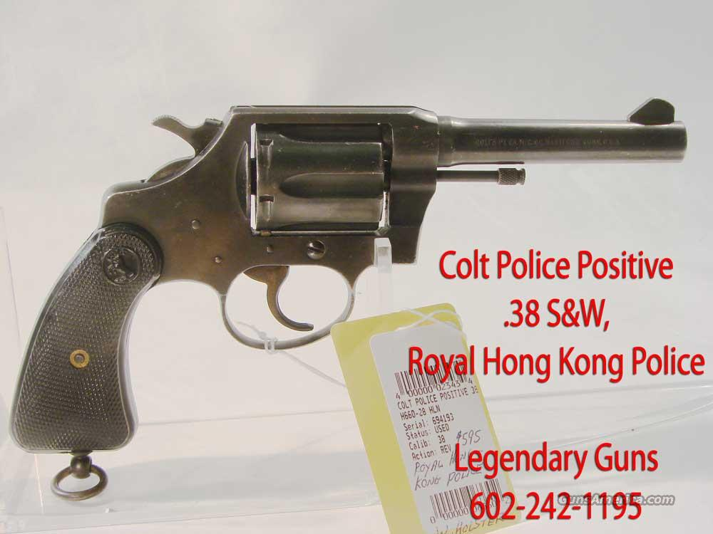 "Colt ""Police Positive .38 S&W With holster  Guns > Pistols > Smith & Wesson Revolvers > Full Frame Revolver"