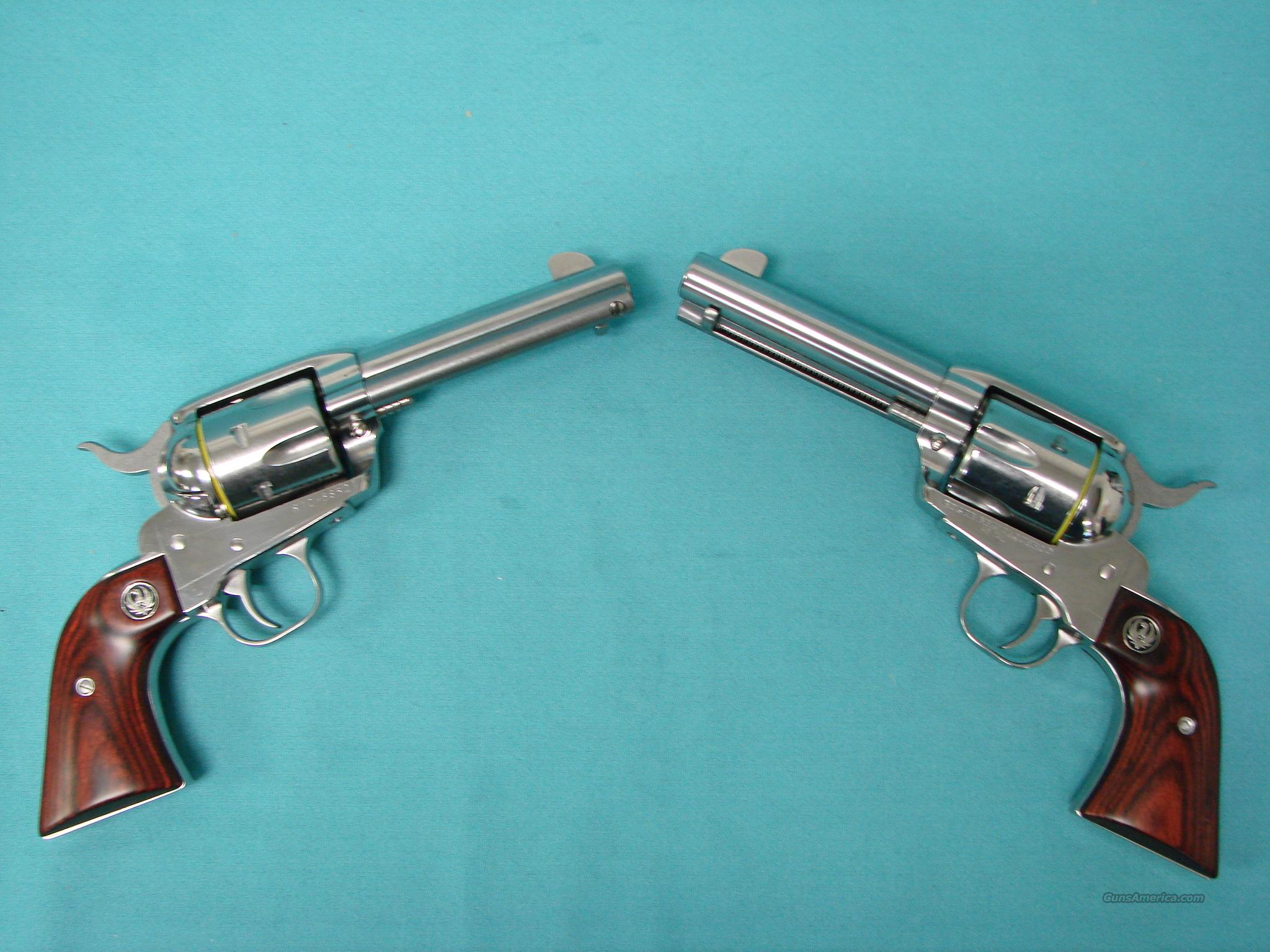 Ruger New Vaquero **Pair**  Guns > Pistols > Ruger Single Action Revolvers > Cowboy Action