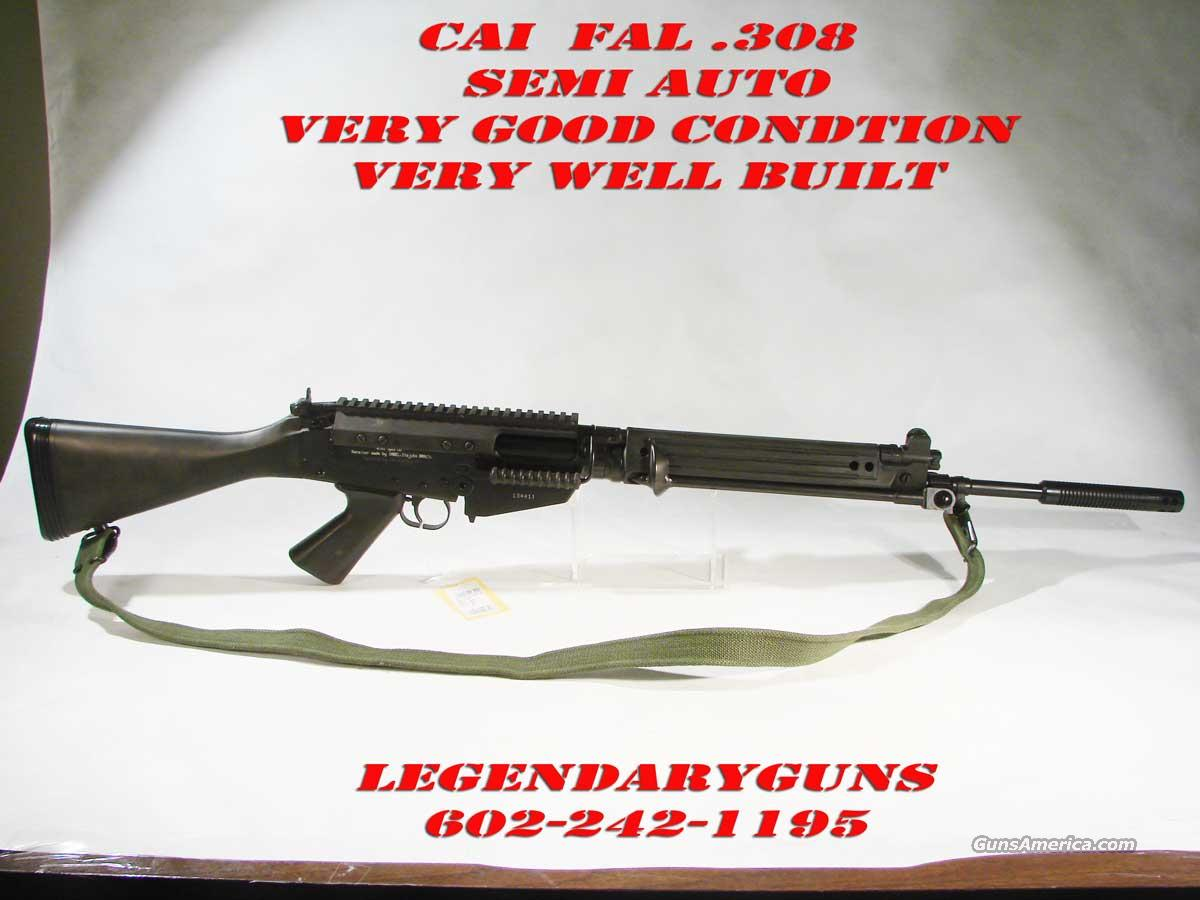 CAI, Model Fal 309 C Semi Auto Inbal reciver  Guns > Rifles > Century Arms International (CAI) - Rifles > Rifles