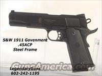S&W Model 1911 .45 Government Size  Guns > Pistols > Smith & Wesson Pistols - Autos > Steel Frame