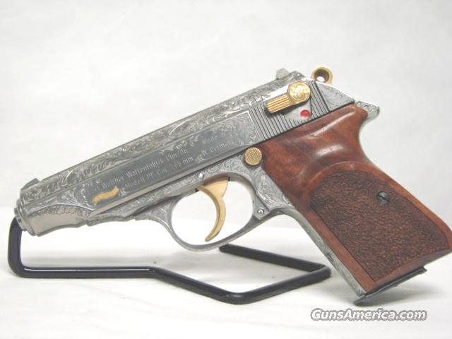 Walther PP 32acp Fully Engraved Custom Grips  Guns > Pistols > Walther Pistols > Post WWII > PPK Series