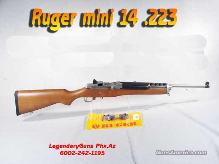 Ruger Mini 14 Stainless Ranch  Guns > Rifles > Ruger Rifles > Mini-14 Type