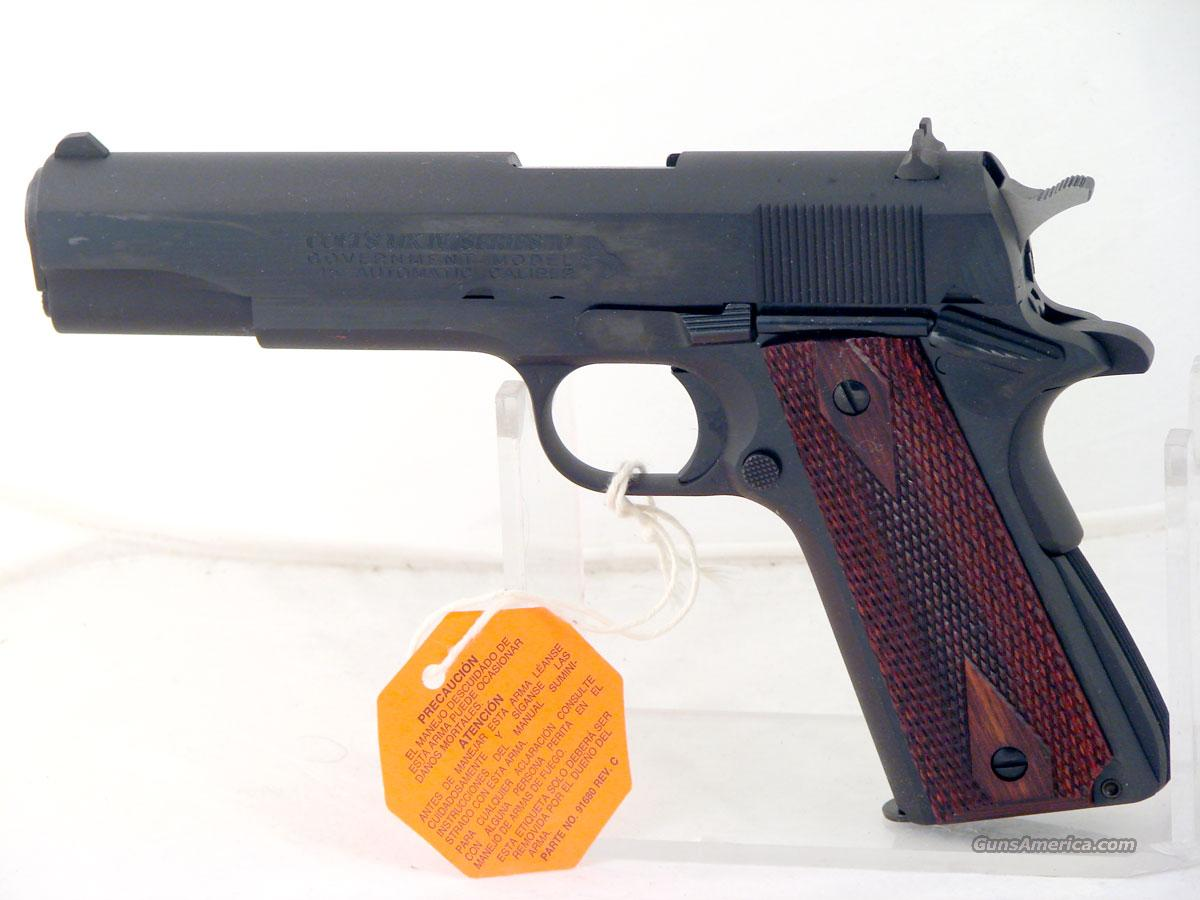 Colt Government, Series 70 .45 ACP, New in the box  Guns > Pistols > Colt Automatic Pistols (1911 & Var)