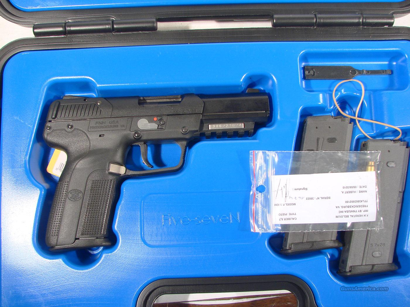 FN Five-Seven 5.7x28mm New in the box  Guns > Pistols > FNH - Fabrique Nationale (FN) Pistols > FiveSeven