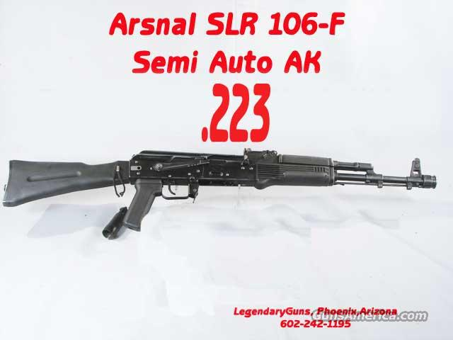 Arsenal SLR-106-F- .223 Folding Stock  Guns > Rifles > AK-47 Rifles (and copies) > Folding Stock
