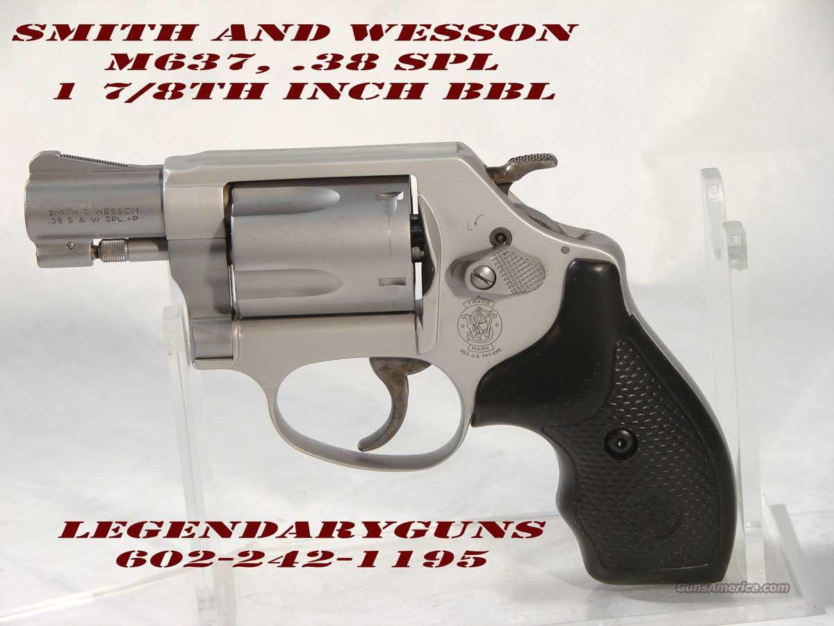 S&W M-637  1 7/8 inch Stainless Alloy .38SPL  Guns > Pistols > Smith & Wesson Revolvers > Pocket Pistols