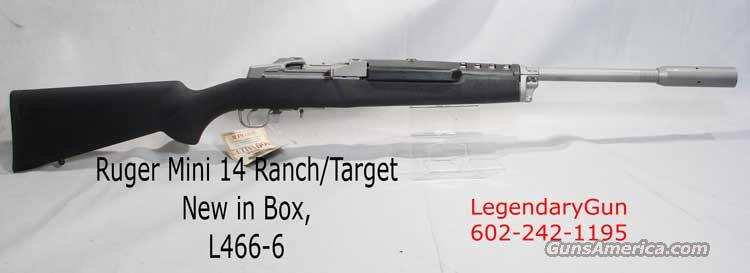 Ruger Mini 14 Ranch/Target .223  Guns > Rifles > Ruger Rifles > Mini-14 Type