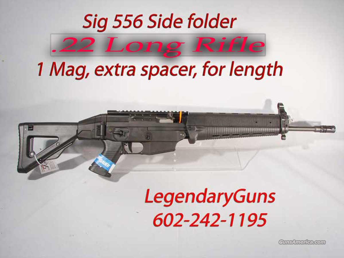 Sig 556 .22LR  Side Folding  Rifle  New in the box  Guns > Rifles > Sig - Sauer/Sigarms Rifles