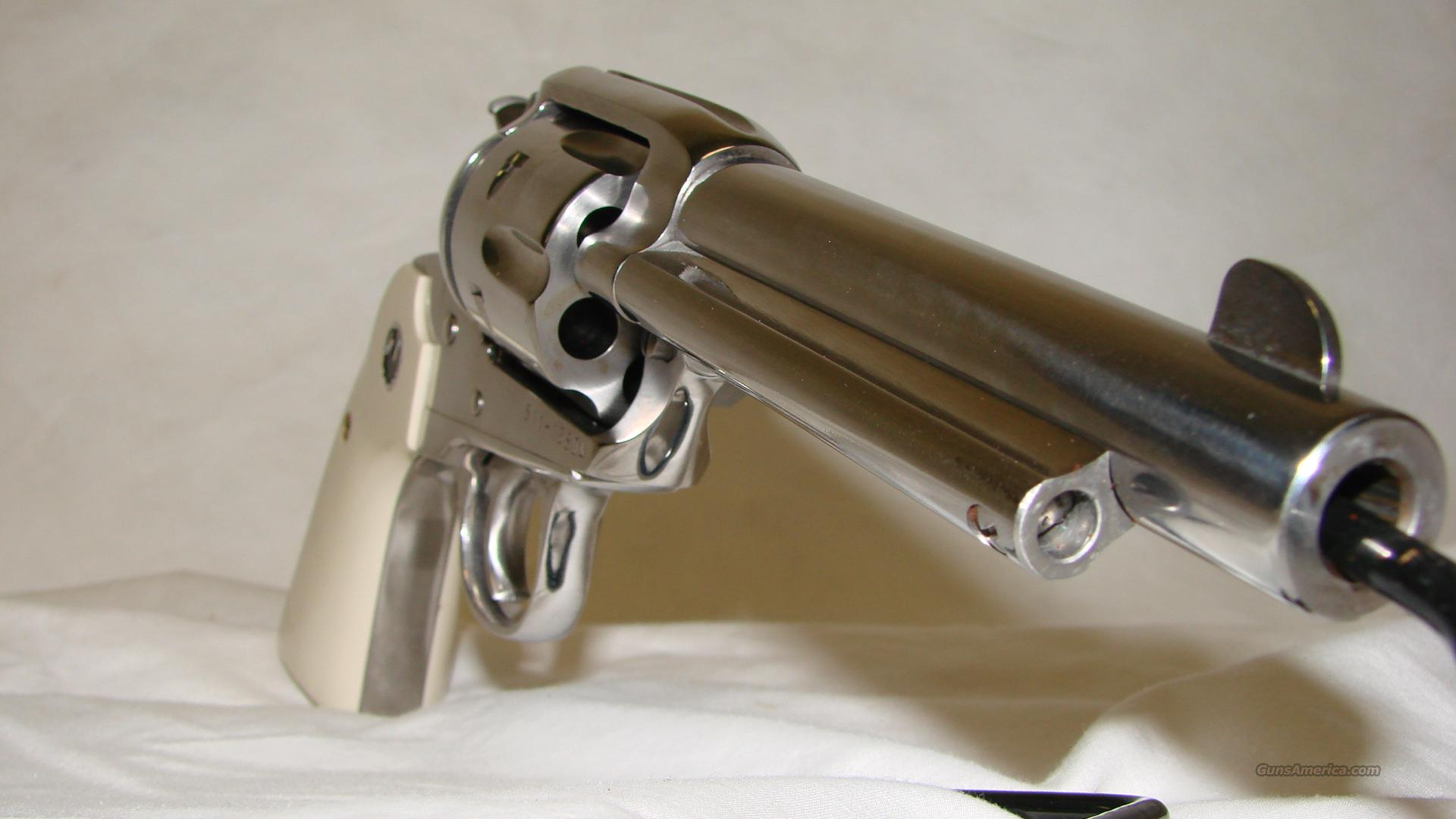 Ruger New Vaquero Bisley 357 mag   Guns > Pistols > Ruger Single Action Revolvers > Cowboy Action