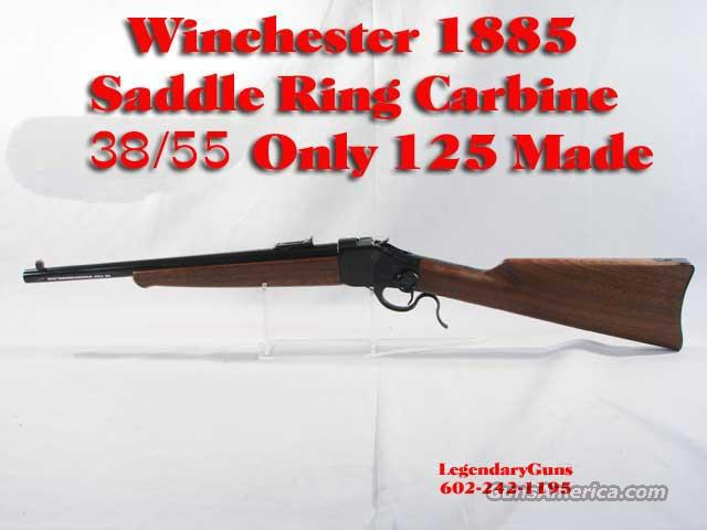 Winchester 1885 Saddle Ring Carbine  Guns > Rifles > Winchester Rifles - Modern Bolt/Auto/Single > Single Shot