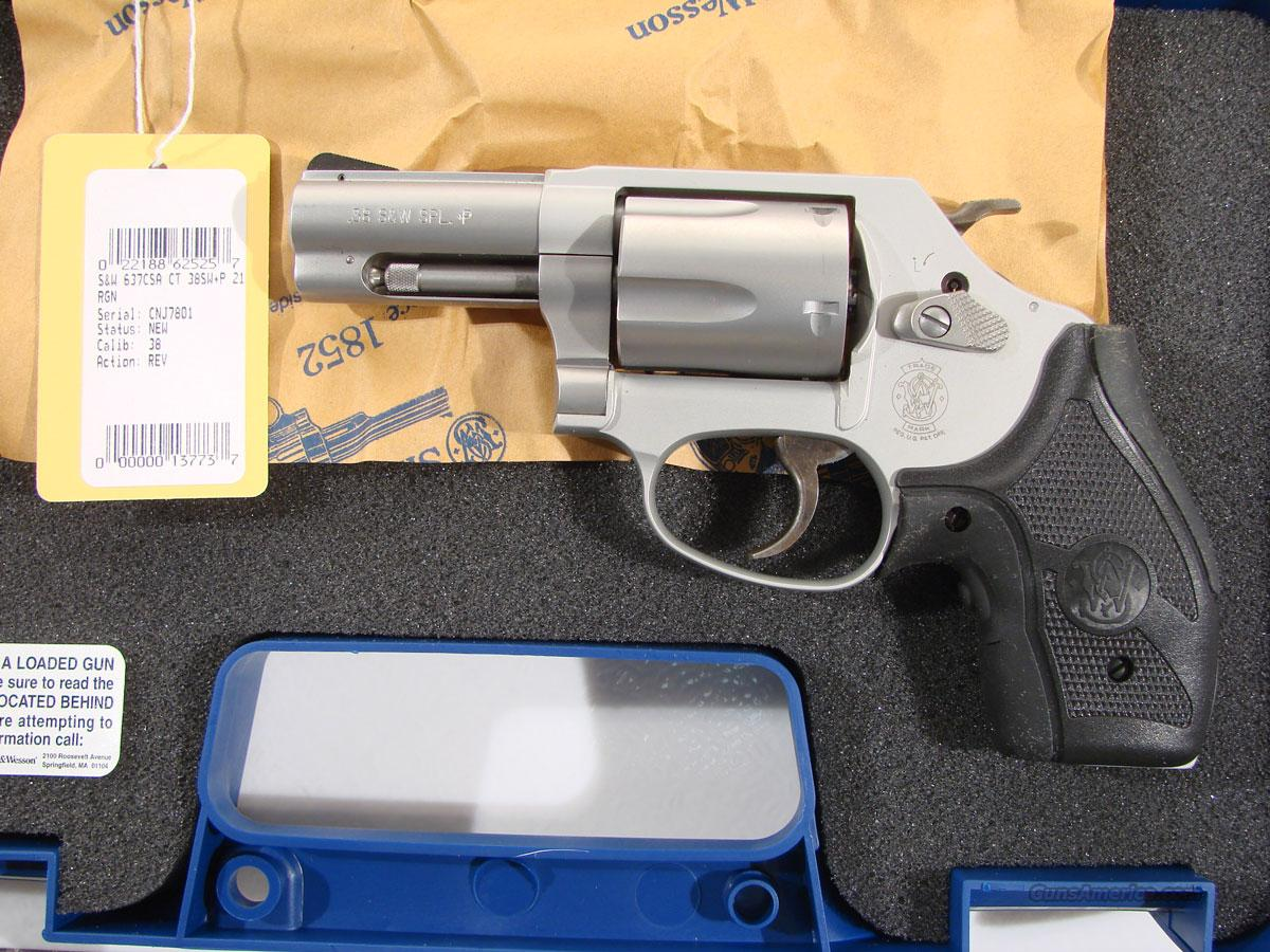 S&W Model 637-2 .38 SPL+P 2.5 inch BBL  Guns > Pistols > Smith & Wesson Revolvers > Pocket Pistols