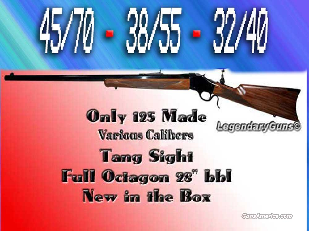 Winchester Model 1885 Traditional Hunter's 32/40-38/55-45/70's  Guns > Rifles > Winchester Replica Rifle Misc.